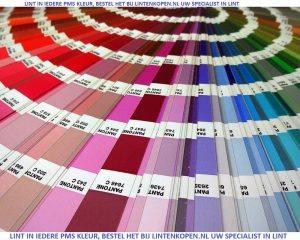 Lint in PMS kleur