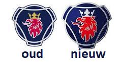 Scania logo's