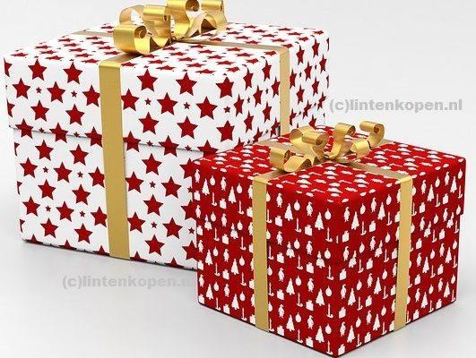 kerstpakket lint