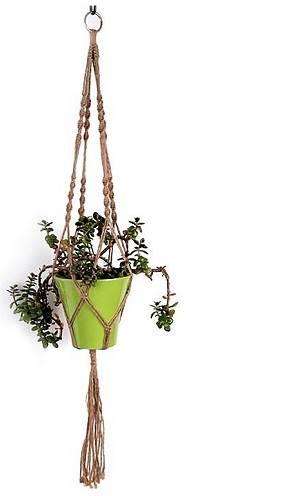 plantenhanger macrame